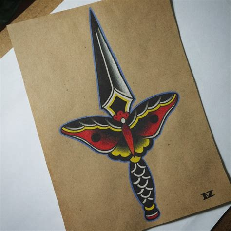 butterfly knife tattoo designs 5 knife and dagger tattoo designs