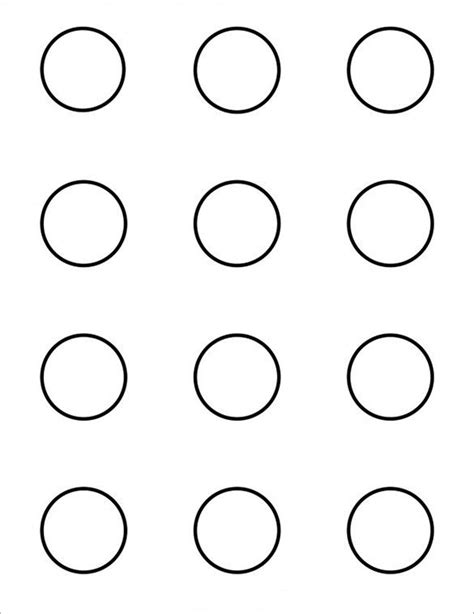 printable macaron templates   macaron