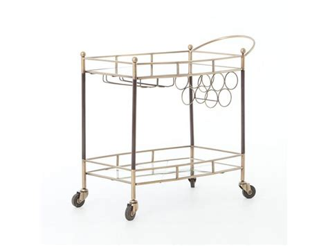 dining room cart furniture images about style a vintage brass bar cart on