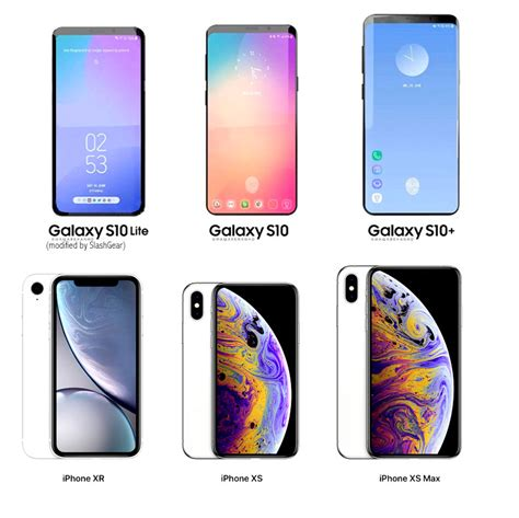 Samsung Galaxy S10 Size by Galaxy S10 3x Models And Price Points Aim For Iphone Xr Xs Slashgear