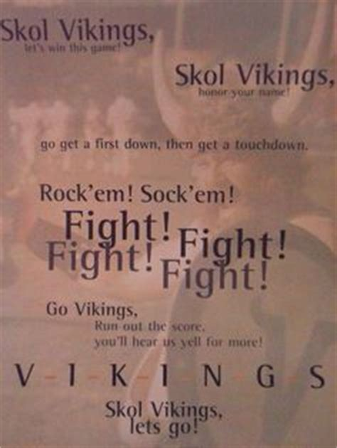 theme song vikings lyrics we re already so excited for football season