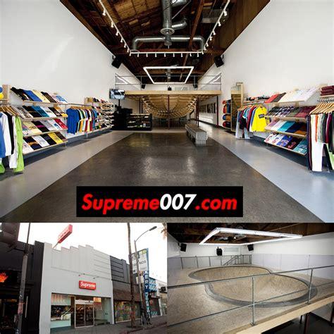 store supreme 美国洛杉矶的supreme官方实体店在哪里 supreme情报网