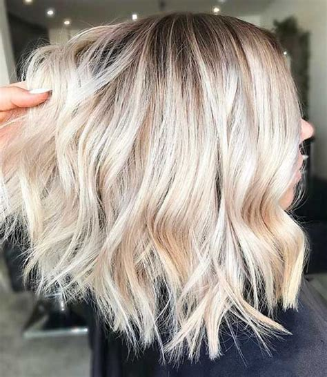 creating roots on blonde hair the 25 best platinum blonde bobs ideas on pinterest