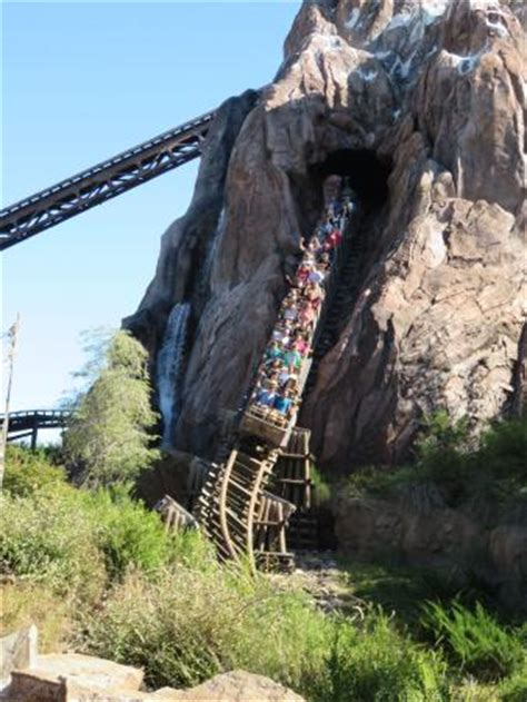 the mount everest ride at disney's animal kingdom