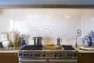 Groutless Kitchen Backsplash by White Brick Groutless Pearl Shell Tile Subway Tile Outlet