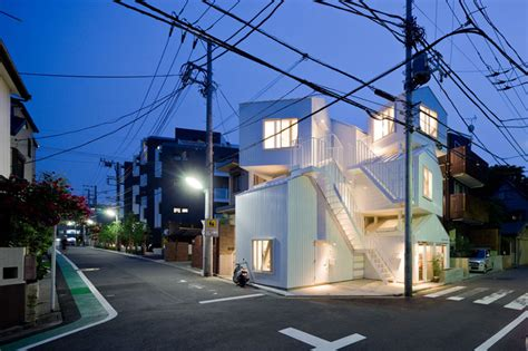 Appartments In Tokyo by Sou Fujimoto Architects E Architect