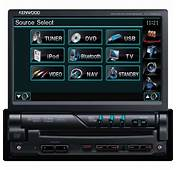 Kenwood KVT 526DVD CD/DVD/MP3 7 Inch Touch Screen