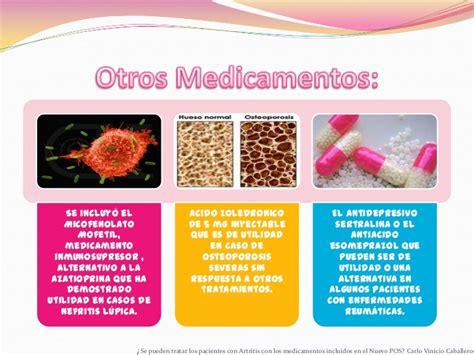 cartilla medicamentos no pos medicamentos pos y no pos en la artritis terminado