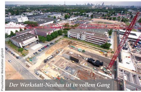 Werkstatt Neubau by Werkstatt Neubau F 252 R Menschen Mit Behinderung Frankfurt Baut