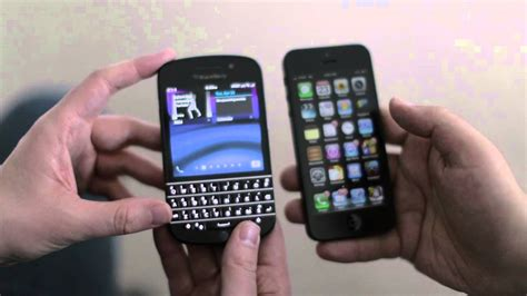 iphone 5 vs blackberry q10 which should you buy