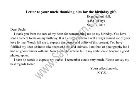 appreciation letter on my birthday appreciation letter for birthday gift 28 images