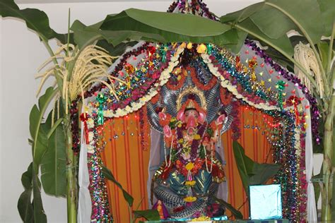 awesome pictures of ganesh chaturthi decoration in your