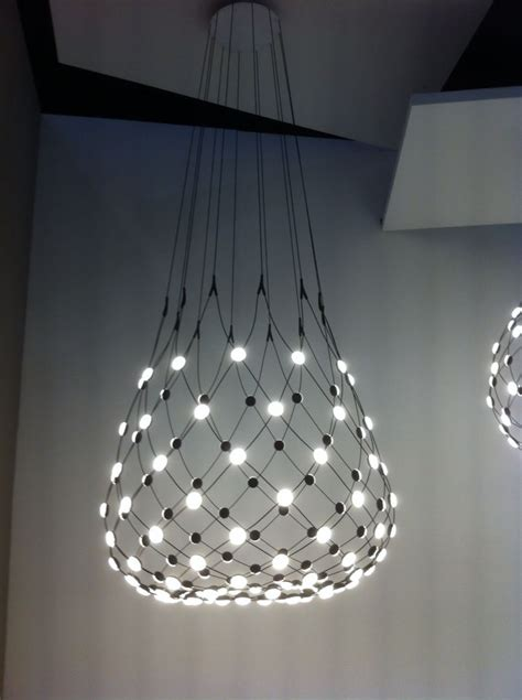 Luceplan Mesh Light By Francisco Gomez Paz At Euroluce Mesh Lights