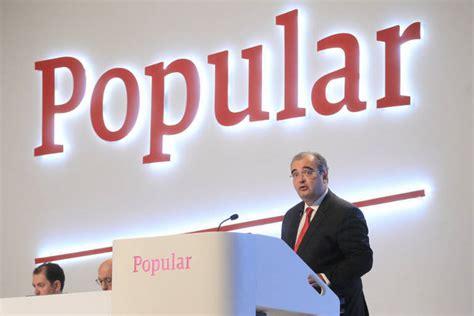 banco popular en bolsa hoy banco popular pierde en bolsa 6 069 millones en los