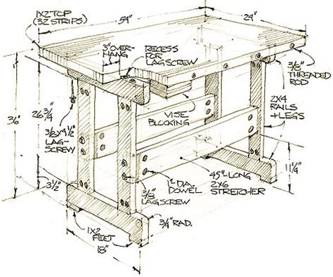 popular woodworking plans popular mechanics workbench plans pdf woodworking