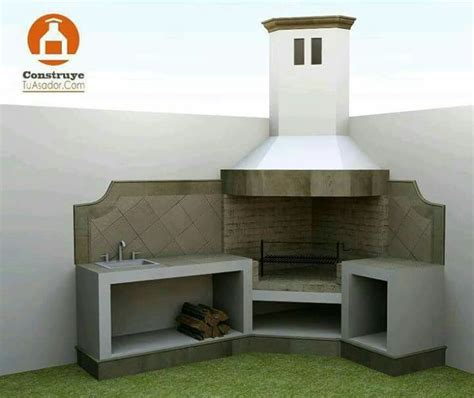 patio interior ladrillo best 25 asadores de ladrillos ideas on pinterest