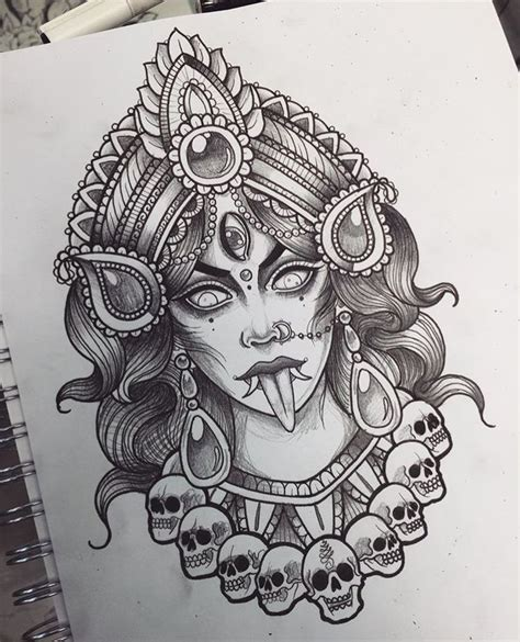 kali tattoo best 25 kali ideas on kali goddess