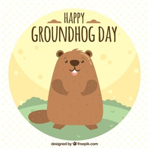 groundhog day vs happy day groundhog vectors photos and psd files free