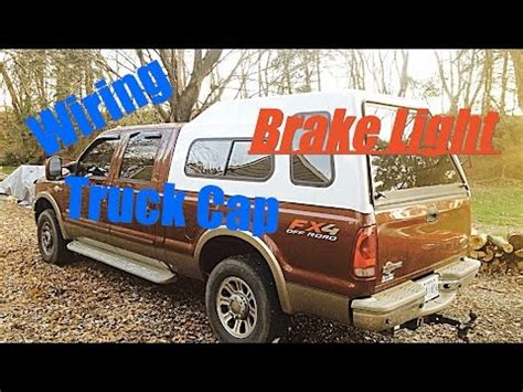 truck cap dome light topper dome light wiring and third brake light doovi