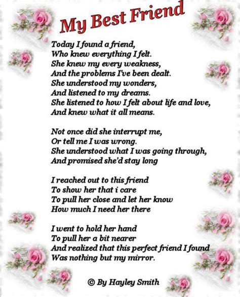 Birthday Card Verses For Friends Famous Friendship Poems Birthday Cards Poems Irthday