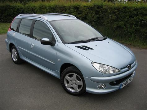 Image Gallery Peugeot 206 Sw 2003