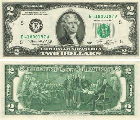 1976 bicentennial 2.00 bill gem crisp uncirculated