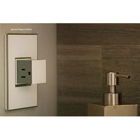 adorne by legrand adorne 174 mirror white 1 gang wall plate by legrand
