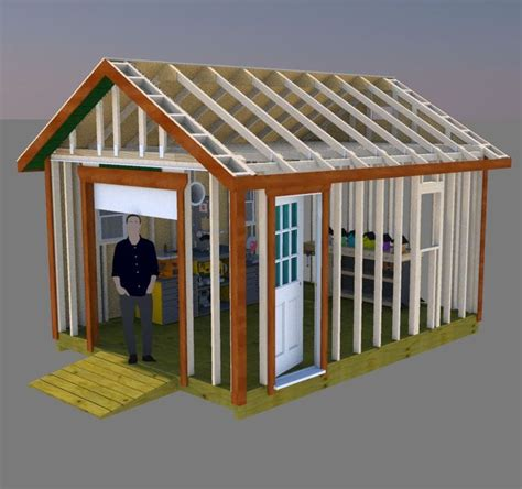 building garage doors best 25 shed plans ideas on how to build