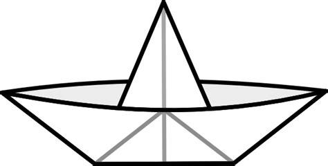 clipart paper boat paper boat clip art at clker vector clip art online