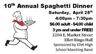Fundraiser Dinner Tickets Template by The Gallery For Gt Spaghetti Dinner Fundraiser Ticket