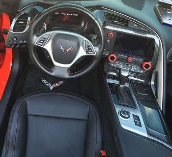 c7 corvette stingray / z06 / grand sport 2014+ real carbon