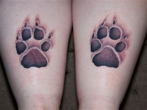 tattoo designs paw prints paw print tattoos designs ideas and meaning tattoos