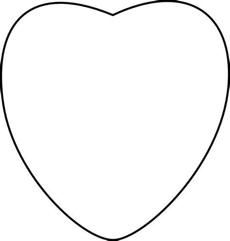 conversation heart coloring page 8 best images of printable conversation hearts blank