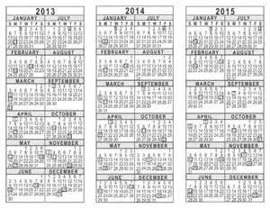 2014 calendar template pdf