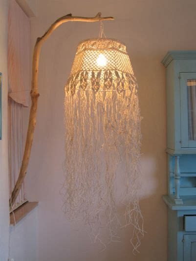 Rideaux Macramé Dentelle by Collezionitosane Info Chandelier Made With Macram 233