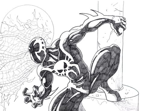 spider man 2099 art coloring pages