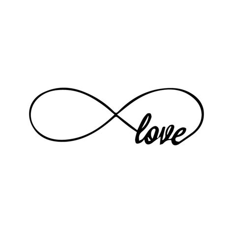 imagenes de infinitos blanco y negro infinito love 2 unid grude tattoo