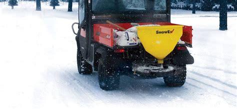 snow salt spreader snowex sp 1075x tailgate salt spreader
