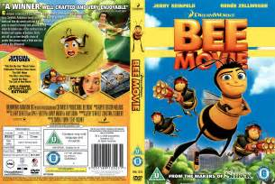 Bee movie 2007 r2 cartoon dvd cd label dvd cover front cover