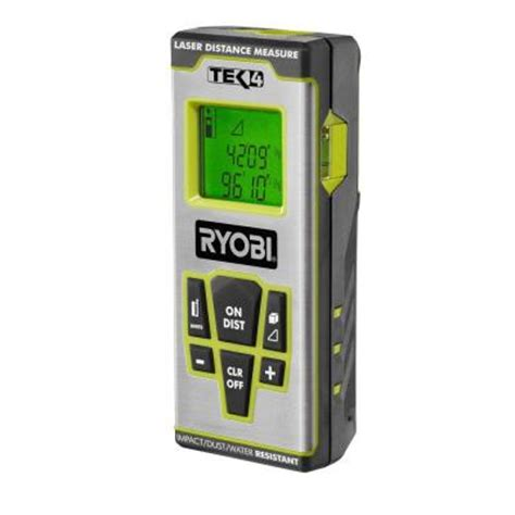 ryobi professional laser distance measure rp4011lk the