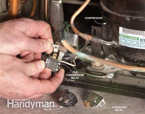capacitor de aire general electric enciendo mi refrigeradora y el motor se apaga en 5 segundos yoreparo