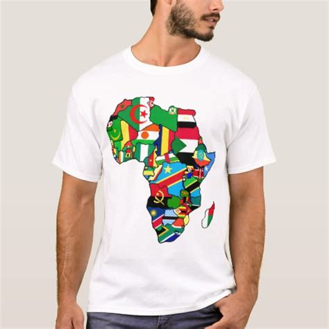 design a shirt south africa african map of africa flags within country maps t shirt