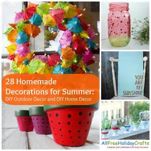Diy Summer Decorations For Home by 28 Homemade Decorations For Summer Diy Outdoor Decor And