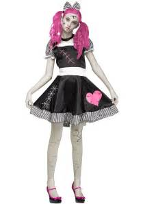 scary halloween costumes for girls teen scary broken doll costume