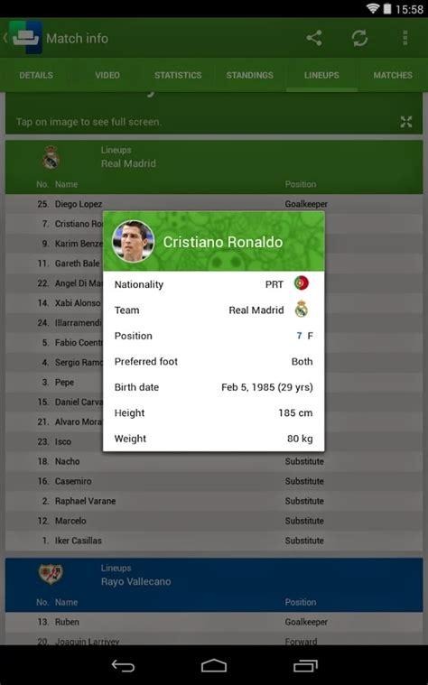 sofa score app sofascore resultados desportivos em directo apps do