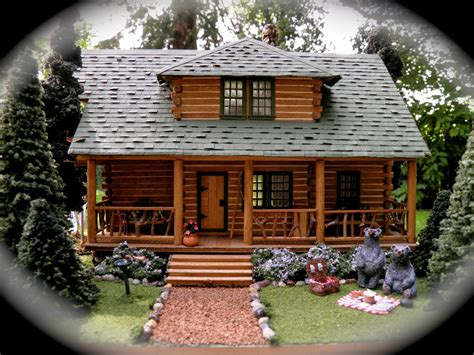 Put You In A Log Cabin Somewhere In Aspen by Design Mini Log Cabin Kits Pine Hollow Homes