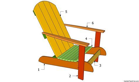 Plans For Building Rocking Chairs   Decobizz.com