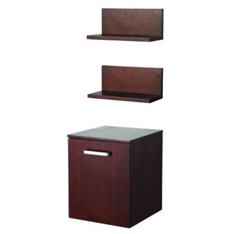 foremost 15 75 in w wall hung storage cabinet and