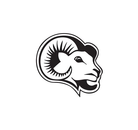 the rams free ram mascot clipart