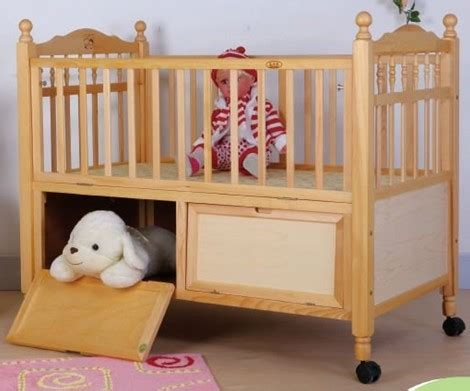 Baby Moving In Crib At by Wooden Baby Crib Sw Fu04